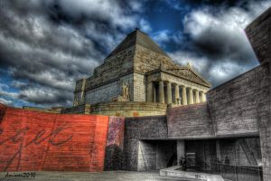 The Shrine Melbourne 2 by daniellepowell82