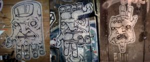 paste up_012_013_014 (close ups) by WladART