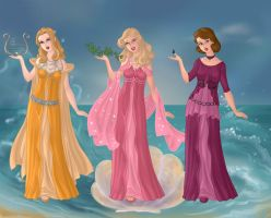 Second Three Muses by RoseHarmony