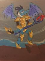 All Hail Dragon Lord Ember by iamkoold