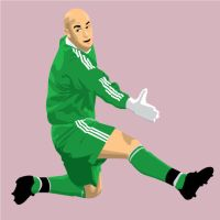 Goalkeeper Reina by parka