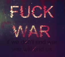 NO WAR by Peace4all