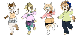 Doge Babes -OPEN- by DeerestHammy