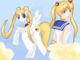 .: Sailor Moon :. by ASinglePetal