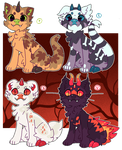 Spoopy Chimeras: CLOSED by Pand-ASS
