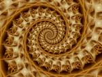 Quite Edible Spiral by fraxialmadness3