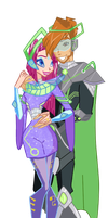 COM: The Royal Couple of Zenith by DJstarberry