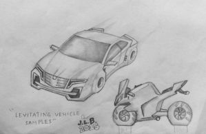 Levitating Vehicle Samples by SammfeatBlueheart
