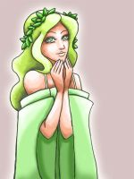 Green maiden by Kit-Kat-Choco