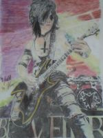 Jinxx BVB  colored by xxdaswarwohlnix