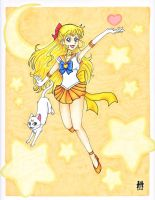 Super Sailor Venus by CandyAppleCat