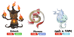 Fakemon Contest by MapleDragon