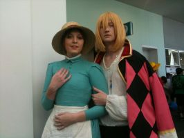 Anime Expo 2012 Sofie and Howl by Fainting-Ostrich