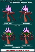 Dark Gaia Sprite Sheet v1.0 by Miszi