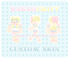 Habii Custom Minecraft Skin by Cupcake-Kitty-chan