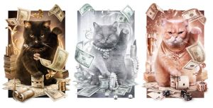 Fortune Cash Cats by maximegirault