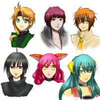 AEA Headshot Requests Batch 2 by Sapphire-hime