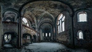 Deserted Sanctuary VIII by AbandonedZone