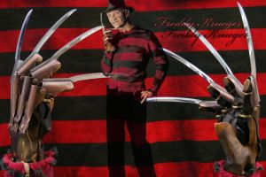 Freddy Krueger by LilxByrd
