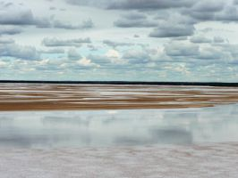 Clouds over the Salt Lake by Antmuzik77
