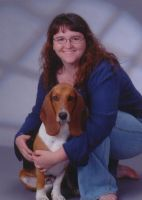 Basset named Lilly by silentsweetheart