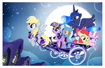 Midnight Ride by PixelKitties