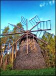 Small windmill of Dervinieki village.... by Yancis