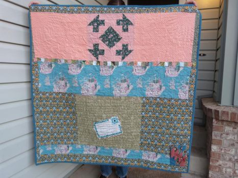 Barbary Pirates Quilt Back by ethelinexile