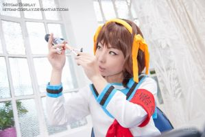 Azusa figure by Hitomi-Cosplay