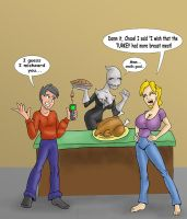 Thanks giving mis hap by chaos-07
