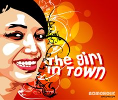 The Girl in Town by acimoholic