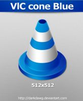 VlC cone Blue by darkdawg