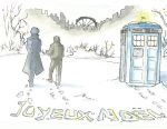 wholock Christmas by corbeauprophet