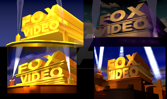 Fox Video 1990's Remakes (Outdated 2) by SuperBaster2015