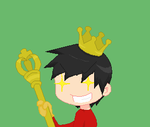 Guess what? I am the king now. Hehe... by Ca14