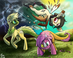MLP: Prehistoric Transformation by PrehistoricPlague