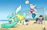 MLP Xtream Beach Volleyball by CrispyChris