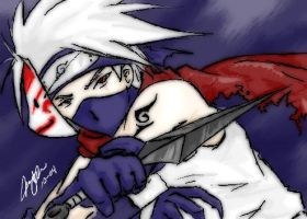 ANBU Kakashi. again. by IIclipse