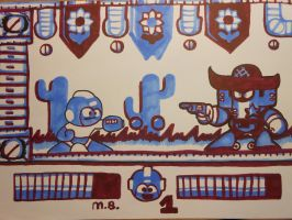 What if Megaman Unleashed was on Gameboy? by TEHTACOMAN12321