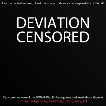 NO SOPA by AveNDarknesS