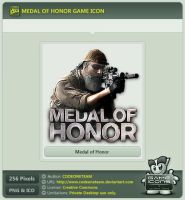 Medal of Honor Icon by CODEONETEAM