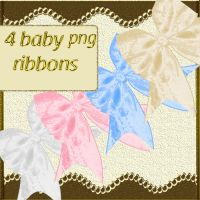 baby ribbons by roula33
