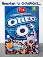 Oreo cereals by jlite