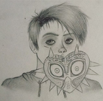 Self Portrait (school assignment) by Demon-Seahorse