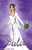 Dulcea's Wedding Dress by Myotes
