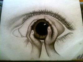 An Eye for an eye makes the whole world blind. by fearless-art