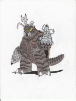 MiniMonsters-Megalon by MonsterKingOfKarmen