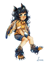 -Auction- Owl Child [OPEN] by Makidoptables
