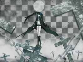 BLACK ROCK SHOOTER by rossfairlydp