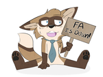 FA is always and forever down by ilovecorgis